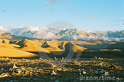 Landscape view of Tibet