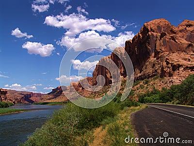 Landscape view UTAH - USA
