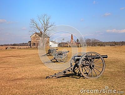 Landscape Virginia Manassas Battlefield