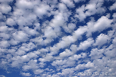 Landscape - Wonderful blue sky and clouds