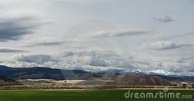 Landscape in Wyoming