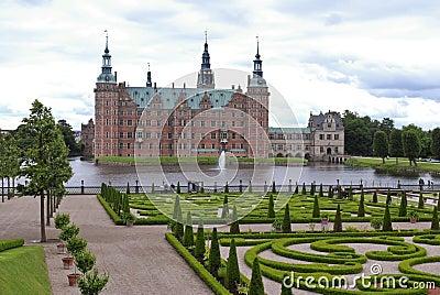 Landscaped garden Frederiksborg palace