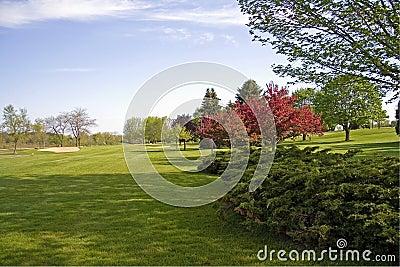 Landscaped Golf Course