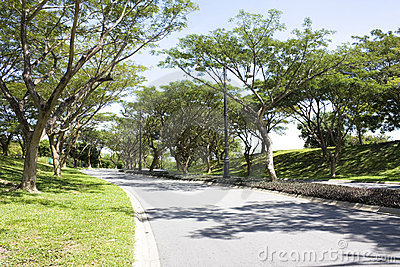 Landscaped Road, Brunei