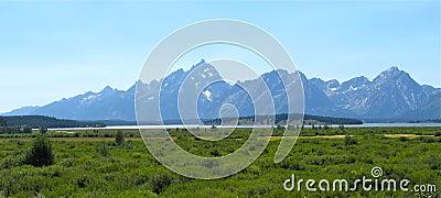 Landscapes of grand teton national park