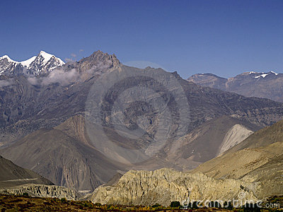 Landscapes in Mustang