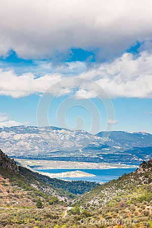 Landscapes in the Peloponesse