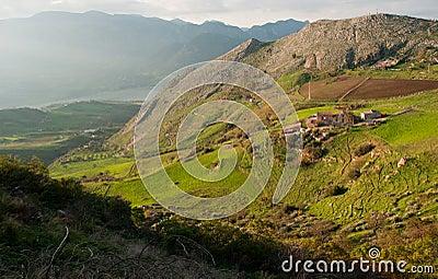 Landscapes of Sicily.