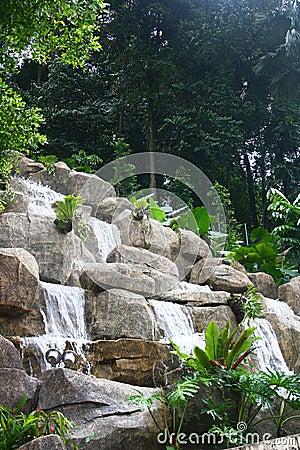 Landscaping at Kuala Lumpur Traffic Signal