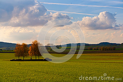 landschaft auf flandern gebieten belgien stockbild bild 28913631. Black Bedroom Furniture Sets. Home Design Ideas