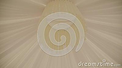 Landschafts-Zelt-Decke für Hochzeits-Zeremonie stock video