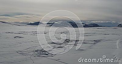 Landschap van bergen Kyrgyzstan Azië stock footage