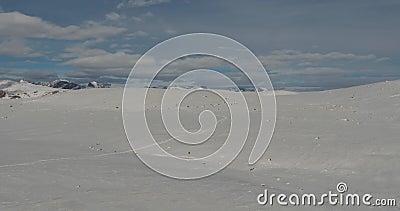 Landschap van bergen Kyrgyzstan Azië stock video