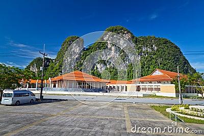 Landskap av det Phang Nga landskapet