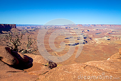 Landskap för Canyonlands nationalparköken