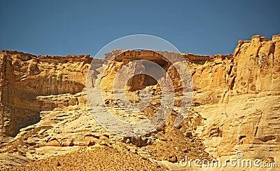 Landslide from Cave