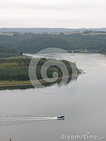 Landévennec bay in Brittany
