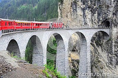 Swiss railway.