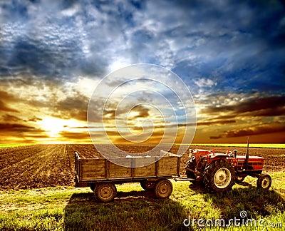 Landwirtschaft landschaftlich verschönert