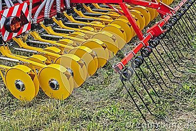 Landwirtschaftliche Ausrüstung. Sonderkommando 7
