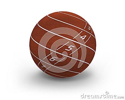 Lanes on sphere