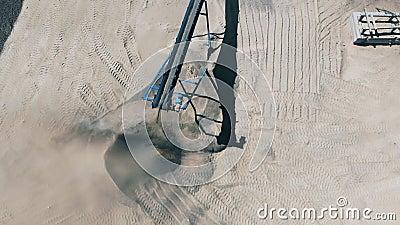 Lang Gürtel eines Kreuzfahrtschiffsschutts stock video footage