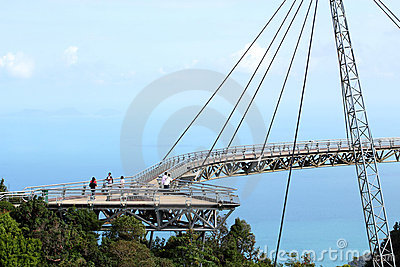 Langkawi Sky Bridge 02 Editorial Stock Image
