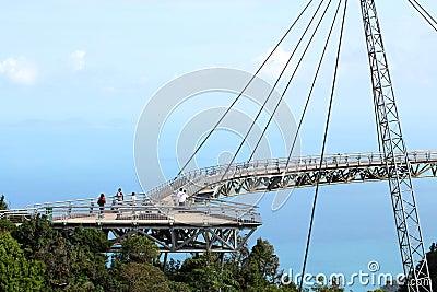 Langkawi Sky Bridge 02 Editorial Stock Image