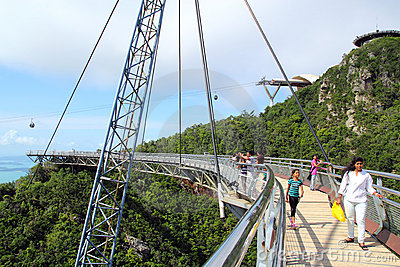 Langkawi Sky Bridge 03 Editorial Image