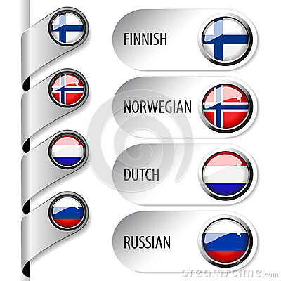 Language pointers with flag for web - set 4