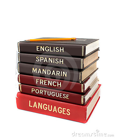 Free Language Text Books Stock Images - 9970914