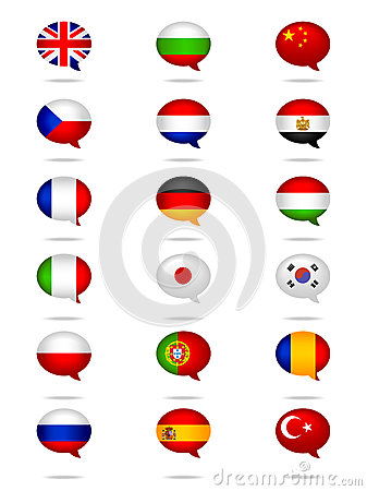 Languages Flag Set