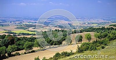 Languedoc landscape