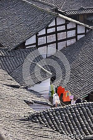 Langzhong folk house