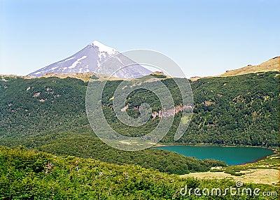 Lanin Volcano, Chile