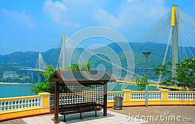 Lantau link observation deck, hong kong
