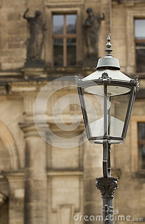 Lantern  in Dresden (Germany).