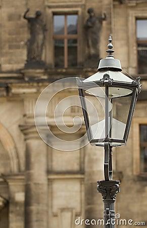 Lantern  in Dresden (Germany).