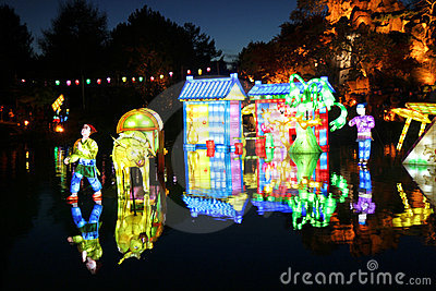 Lantern Festival Editorial Photography
