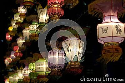 Lantern Festival in Singapore