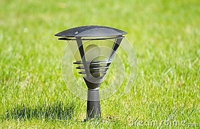 Lantern on the  grass