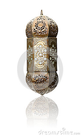 Free Lantern Isolated, Ramadan Lamp Concept Royalty Free Stock Photos - 42313368