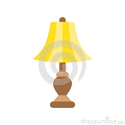 Free Lantern Or Lamp Vector Icon, Flat Style Royalty Free Stock Image - 133675786