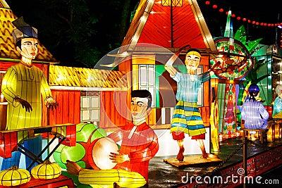 Lantern Performance (Malay)
