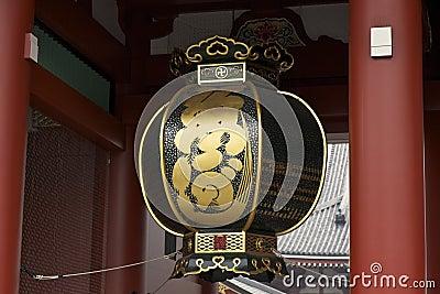 Lantern at Senso-ji Temple, Asakusa Tokyo
