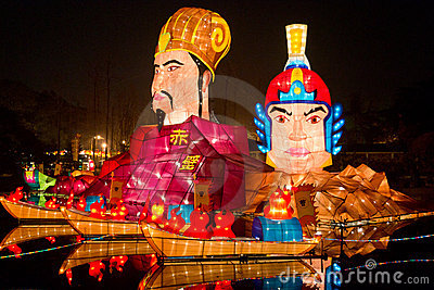 lantern show Editorial Stock Image
