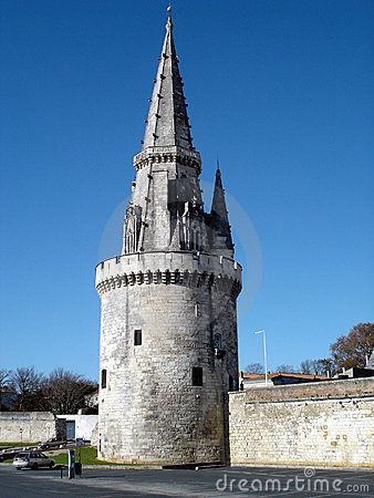 Free Lantern Tower La Rochelle / France Royalty Free Stock Images - 1490109