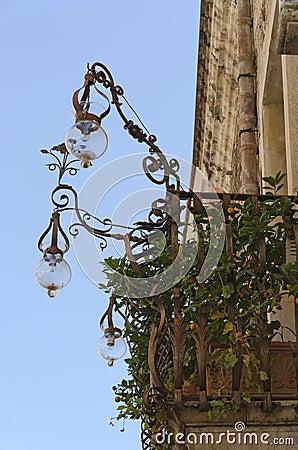Lanterns On A Balcony