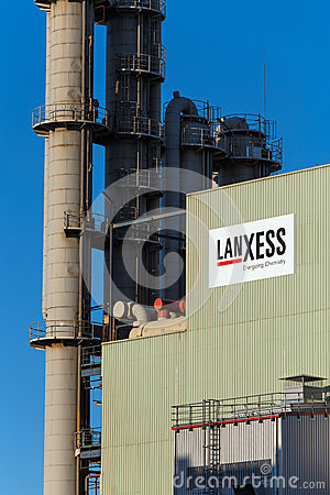 Lanxess AG at Chemical Park Leverkusen Editorial Photography
