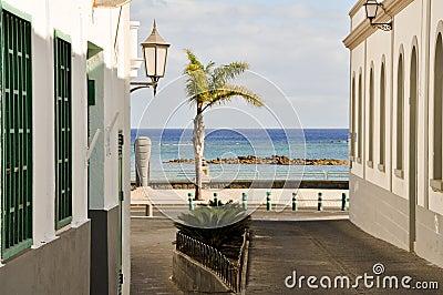 Lanzarote - charmful street